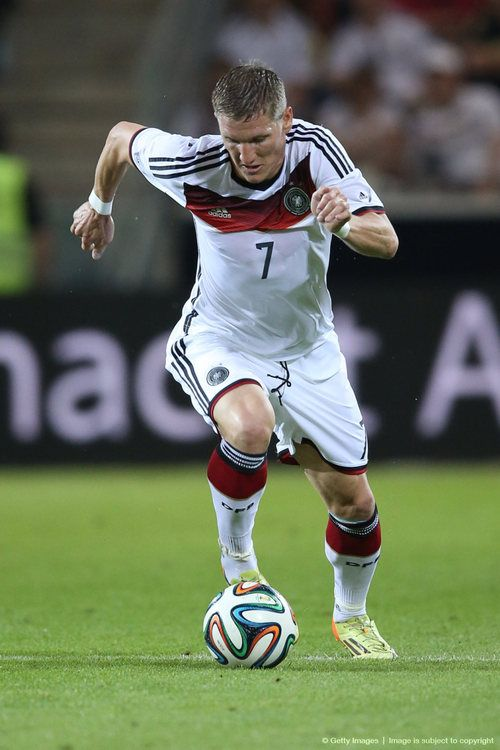 Schweinsteiger, up to his shenanigans again this World Cup.. TEAM GERMANY 2014