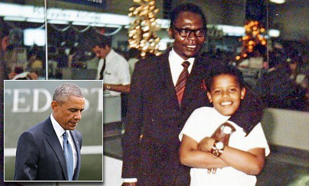 Barack Obama's father letters found in Harlem | Daily Mail Online