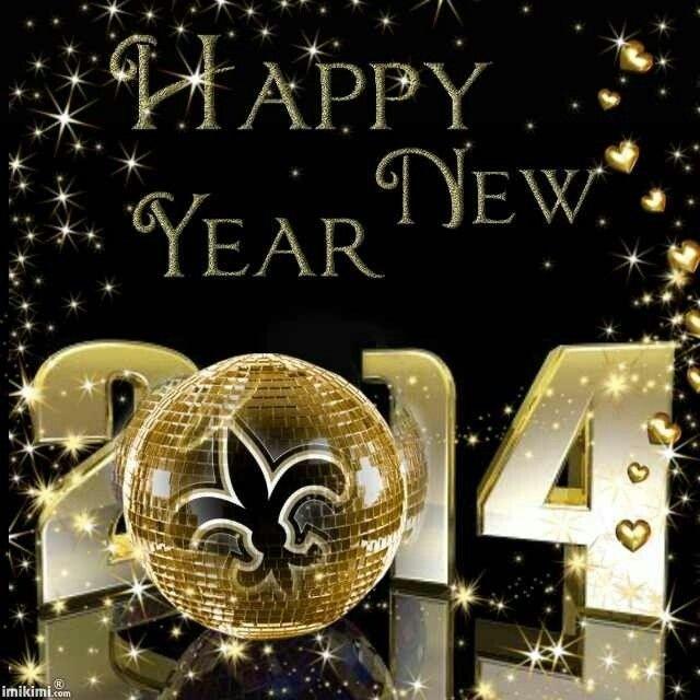 Happy New Year Saints Fans Geaux Saints Pinterest New Orleans