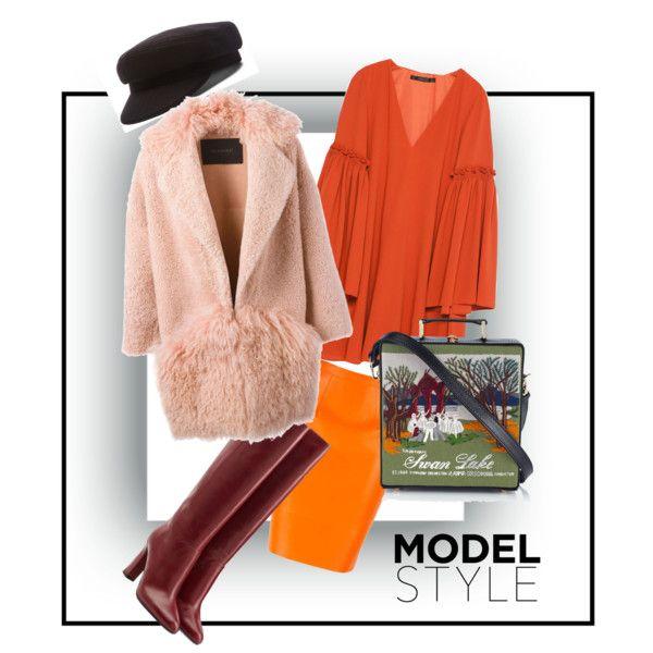 A fashion look from November 2015 by prusakova-1 featuring Diane Von Furstenberg, Zara, BLANCHA, Olympia Le-Tan и Étoile Isabel Marant