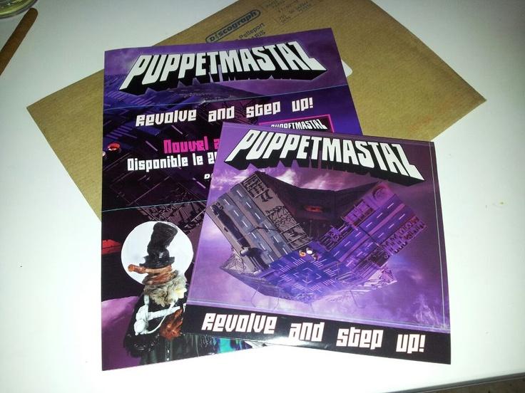 Nouvel album de #Puppetmastaz (via @Eeliottt )