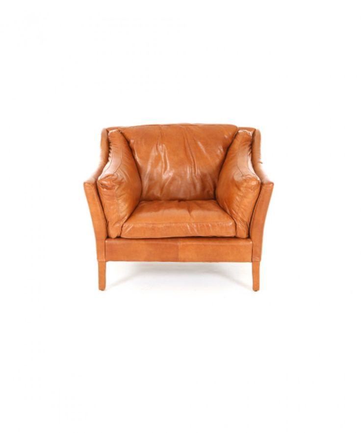 Caseys Furniture | Reggio High Back Armchair | Leather | Sofas