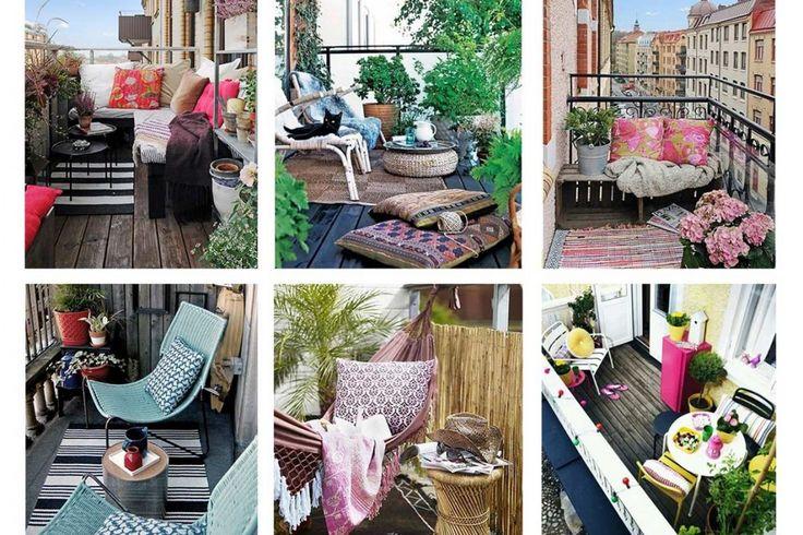 16 Idees De Decoration Pour Petit Balcon Decoration Petit Balcon