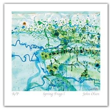 JO001 Spring Frogs lEdition Sold Out - John Olsen