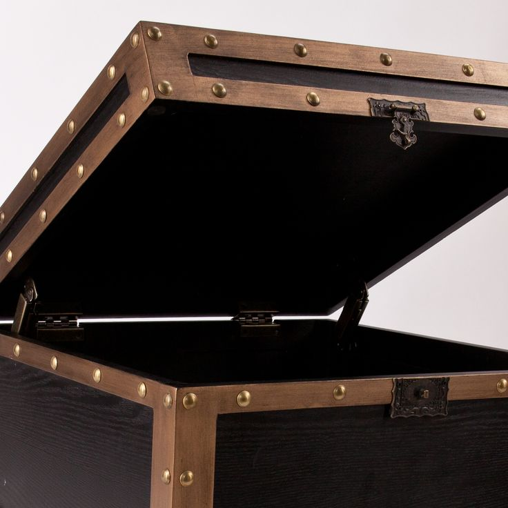 Draven Travel Trunk End Table
