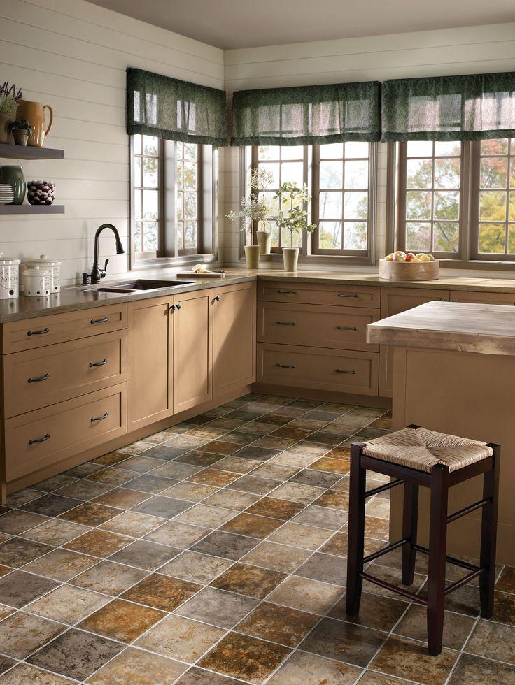 Best 25 Stone Kitchen Floor Ideas On Pinterest Flooring