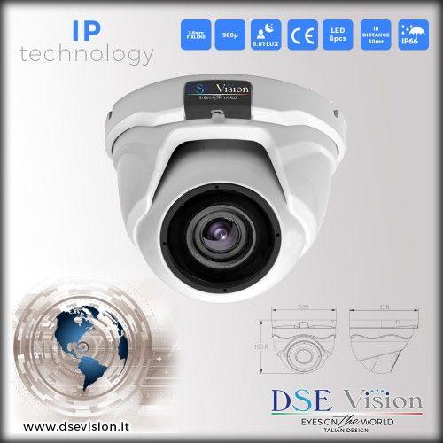 DS-IP13MPD Telecamera a colori dome IR impermeabile
