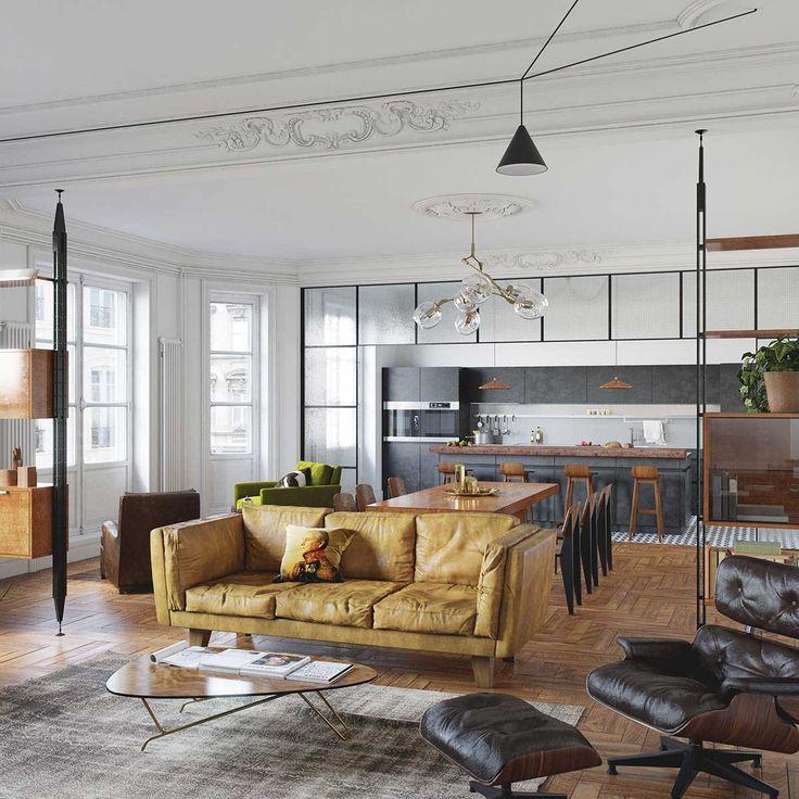 Historia Designu W Jednym Mieszkaniu