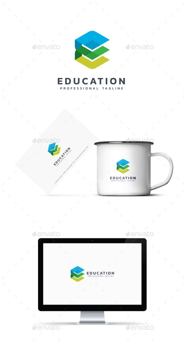 Education Logo Template Vector EPS, AI Illustrator Logo Templates