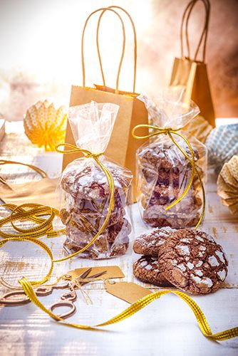 Cookies au chocolat Petites préparations de fêtes desserts rapide et facile