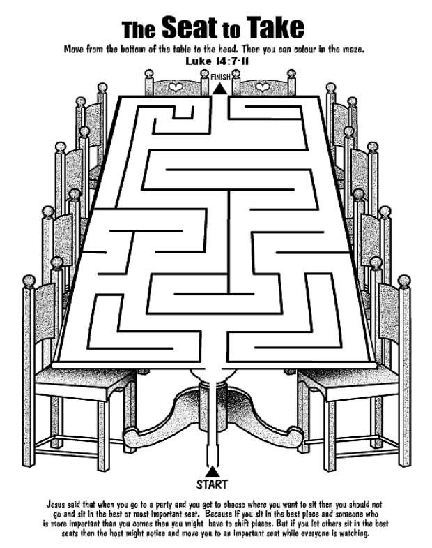 Gelijkenis Van De Feest Gasten Doolhof Parable Of The Party Guests Maze