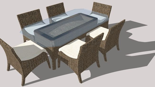 Outdoor Patio Furniture - 3D Warehouse