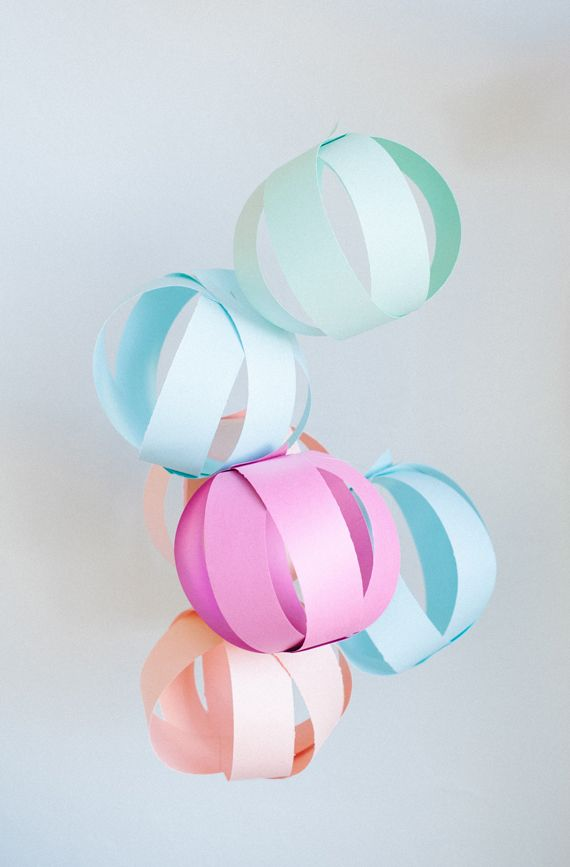 Paper Party Balls by A Subtle Revelry