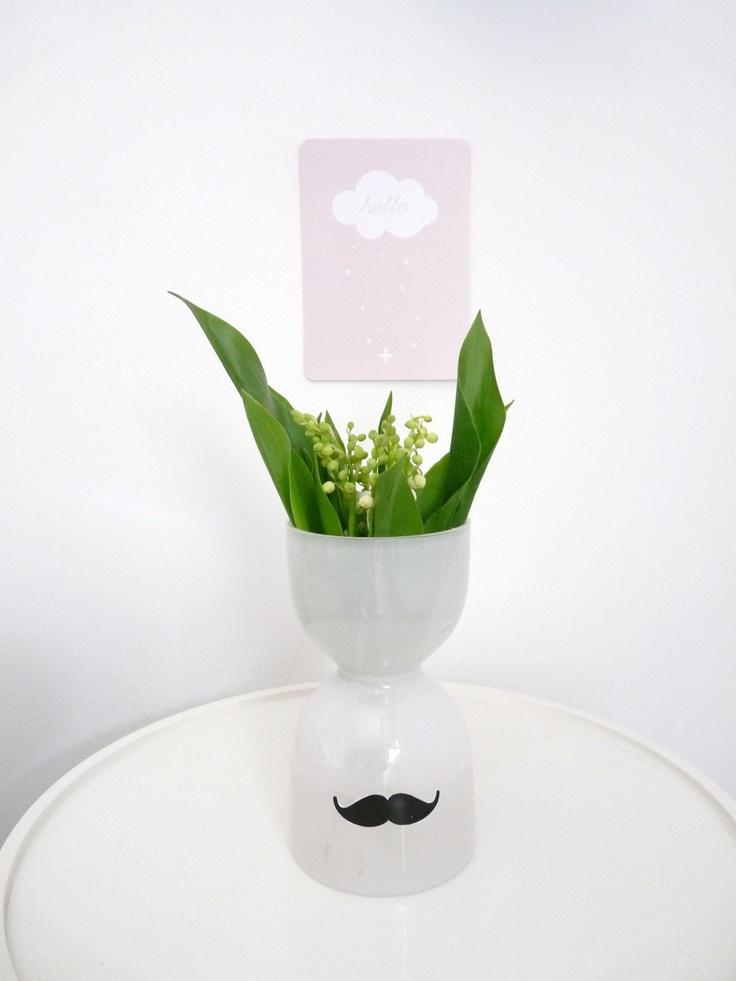 Clochettes * Carte Hello Cinq Mai