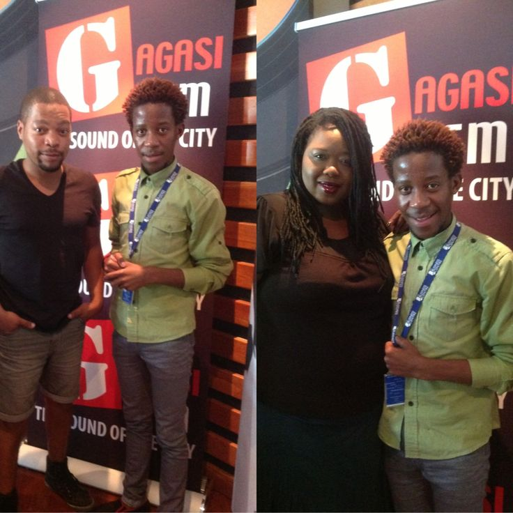 An hour with Thandolwethu and Trevor Philips at Gagasi fm studios