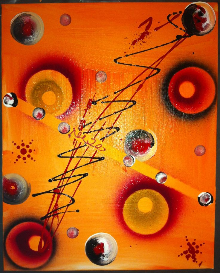 Tableau abstrait acrylique Bea Quaker Créations  https://www.facebook.com/beaquaker http://www.alittlemarket.com/boutique/bea_quaker_creations-1602545.html