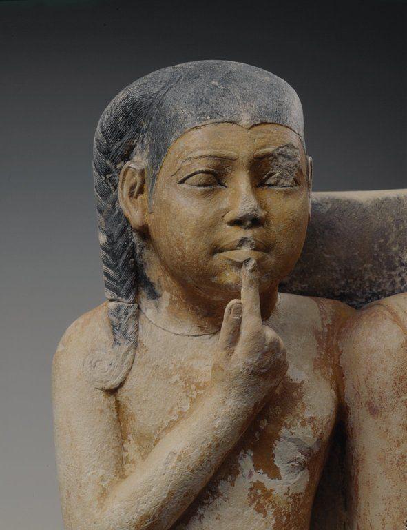 Statue of Nykara and his Family Egypt, ca.2455-2350 B.C. Late V Dynasty, Old Kingdom