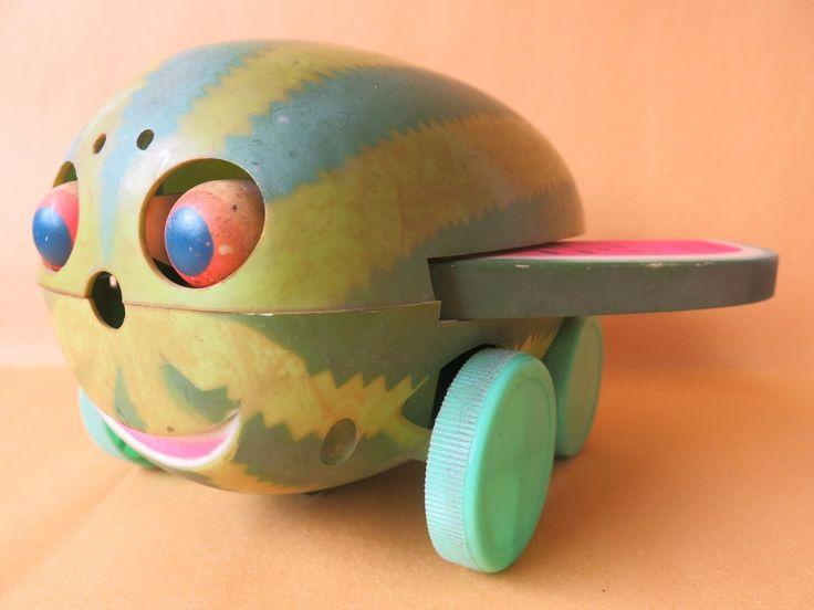 Brinquedo Melancia com rodinhas Da Troll
