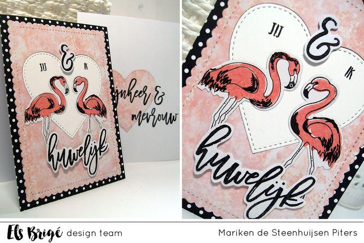 Huwelijk door Mariken de Steenhuijsen Piters voor Els Brigé design