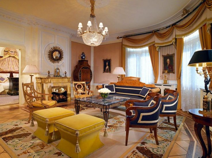 THE PRINCE OF WALES SUITE, HOTEL BRISTOL, VIENNA - Price: About $3,600 per night  Bragging Rights: U.S. Army HQ for a decade after World War II; host to royalty (Edward VIII stayed here in 1936 while he was briefly the King of England) and movie stars (see Deneuve, Catherine).