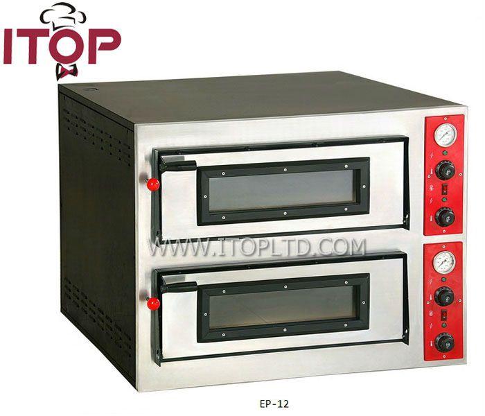 "12"" pizza * 12PCS electric brick oven pizza ovens sale"