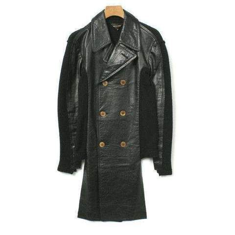 COMME des GARCONS. Japan. Junya Watanabe. Product design dyed wool coat