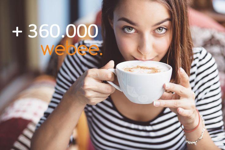 Webee. Oltre 360.000 siti realizzati