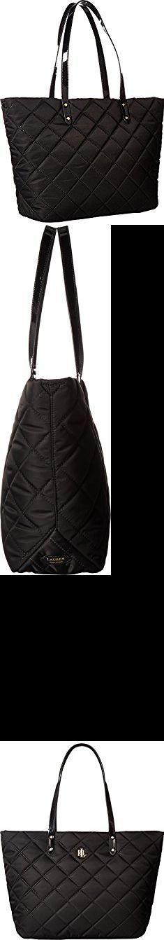 Ralph Lauren Tote Bag. LAUREN Ralph Lauren Women's Bainbridge Medium Tote Black Crossbody Bag.  #ralph #lauren #tote #bag #ralphlauren #laurentote #totebag