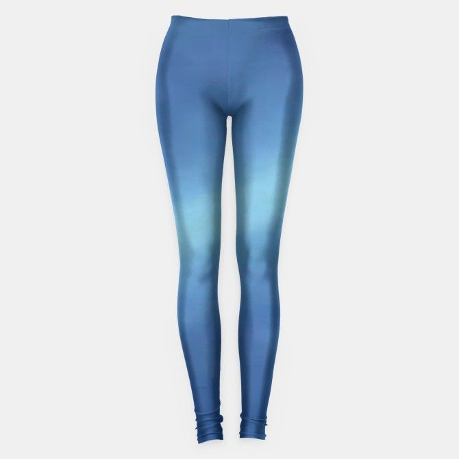 Gradient Blue Leggings by Elena Indolfi Style #LiveHeroes @live