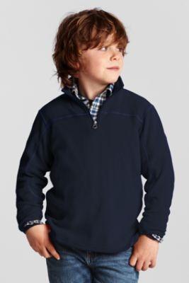 Boys' Polartec® Aircore 100 Half -zip Pullover from Lands' End