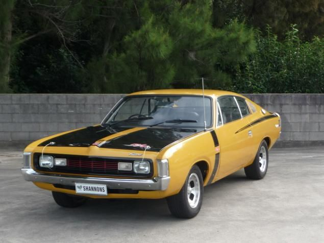 This 1971 Chrysler VH Valiant Charger R/T E49 used a Hemi 6-cylinder to take the fight to V-8 rivals.