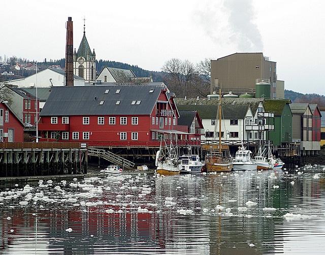 Levanger Harbour, Norway