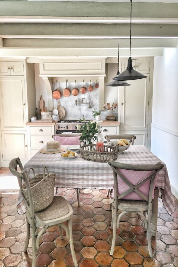 French Farmhouse Design Inspiration House Tour Hello Lovely French Country Interiors French Farmhouse Decor Country Kitchen Designs