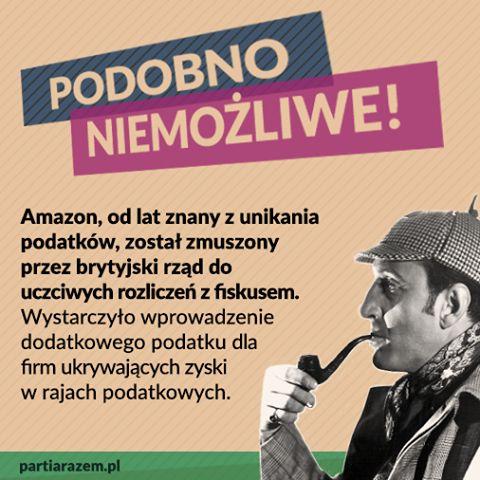 Międzynarodowe koncerny uciekają przed płaceniem podatków tylko dlatego, że pozwalają im na to nasze rządy. Czas zmienić zasady gry - także w Polsce. Wprowadzimy klauzulę przeciw unikaniu opodatkowania. Dzięki temu państwo zyska realne narzędzie w walce z wyprowadzaniem zysków do rajów podatkowych. http://www.partiarazem.pl