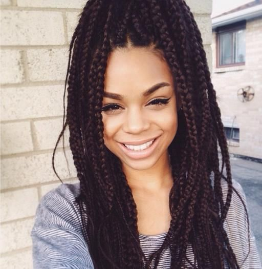 Trying to decide if I want braids or not! So cute though!♡