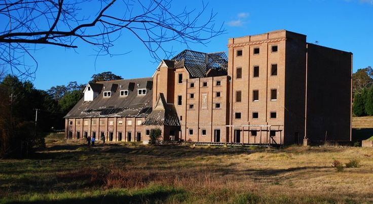 """Mittagong [NSW, Australia] is home to an abandoned historical building complex known as the """"Maltings"""". In the past, The Maltings served as malthouses for the old major beer company of New South Wales, Tooth and Co. One of the malthouse buildings can be seen when entering Mittagong on the Old Hume Highway from Braemar. This building is one of the original buildings and is over 100 years old. This complex is abandoned and in decay. http://en.wikipedia.org/wiki/Mittagong"""