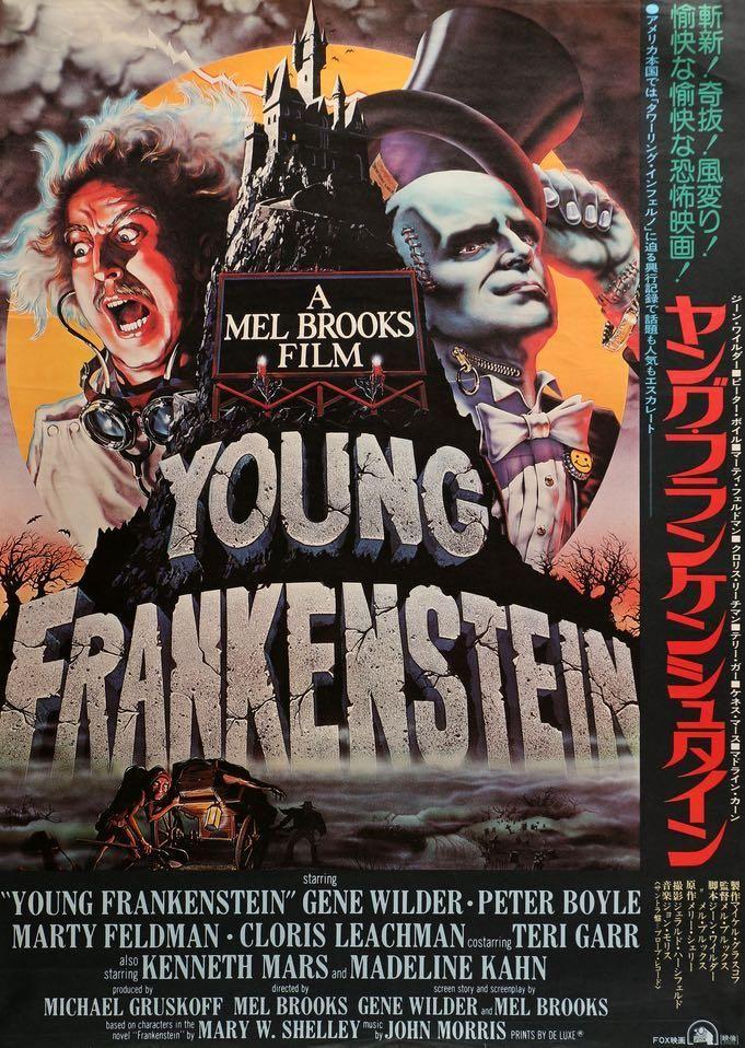 Young Frankenstein 1974 Young Frankenstein Movie Young Frankenstein Movie Poster Young Frankenstein