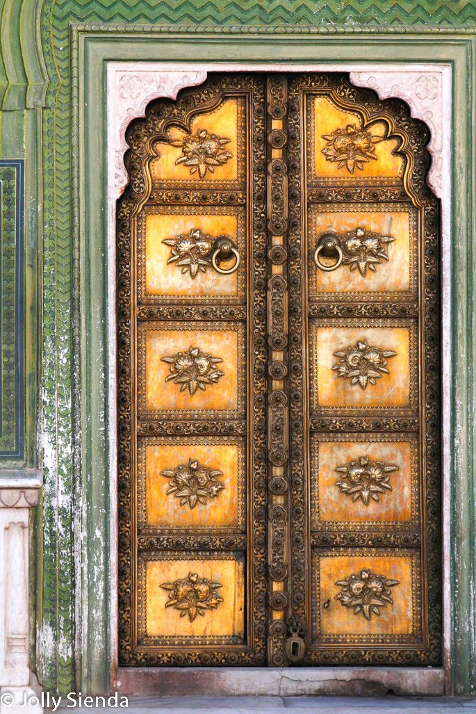 Golden door City Palace Jaipur India. Photography by Jolly Sienda Photography. & 13 best Exotic Doors and Window Art. Photography by Jolly Sienda ...