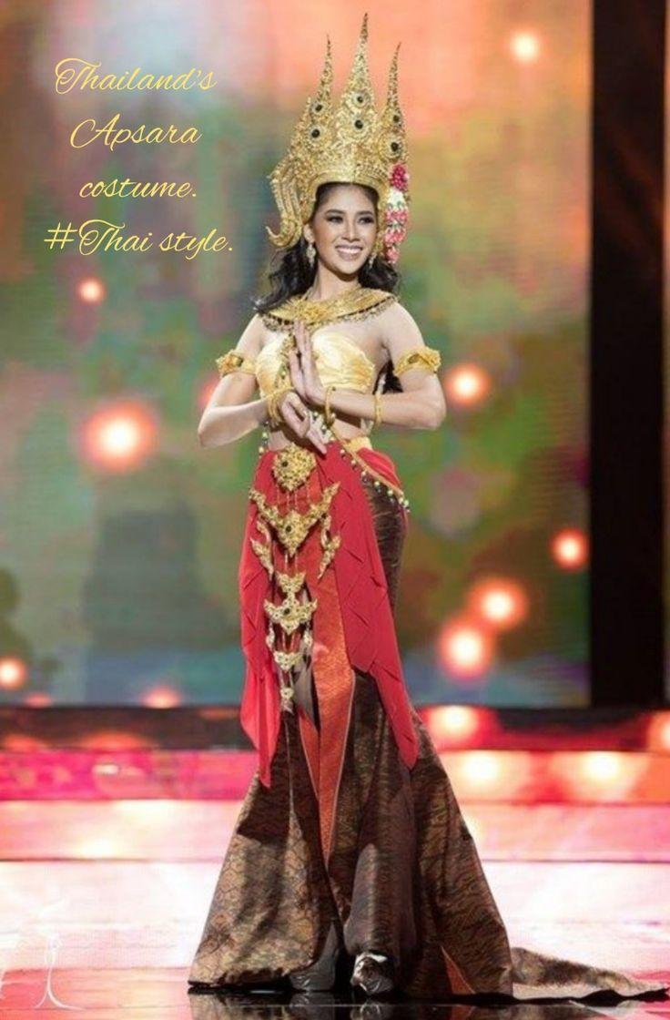 ปักพินโดย Nootty ใน Thai Dress | เดรส, แบบ, ภาพนิ่ง