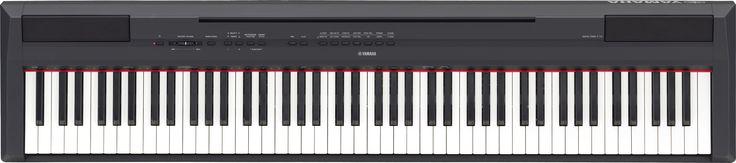 P-115 Compact and Portable Digital Piano| Shop Yamaha - Musical Instruments
