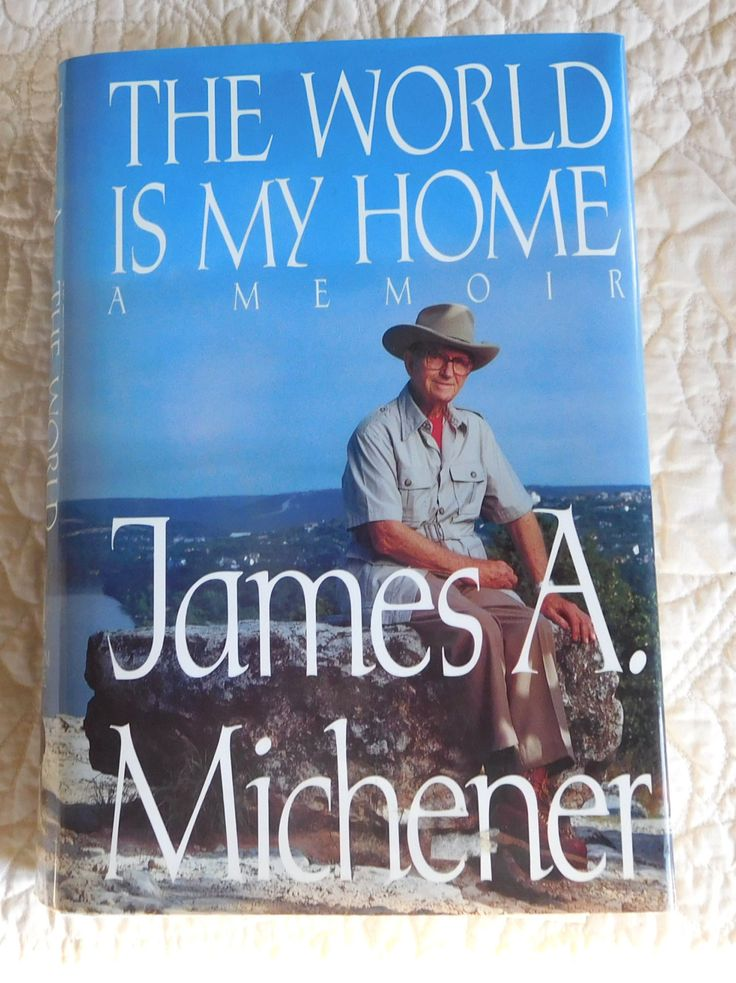 James A Michener A Memoir The World is my Home Hardcover Vintage by LandofBridget on Etsy