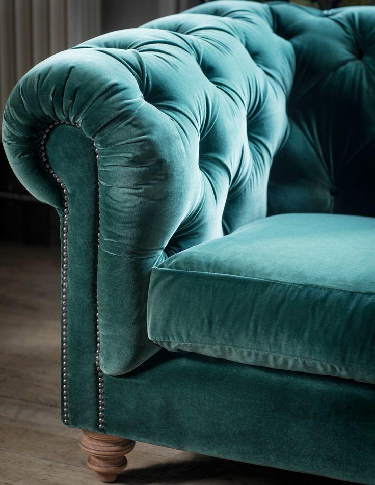 1000 Ideas About Chesterfield Sofas On Pinterest Apartment Home Living Velvet Chesterfield
