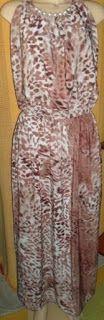 Brecho Online - Belas Roupas: Vestido Viscose