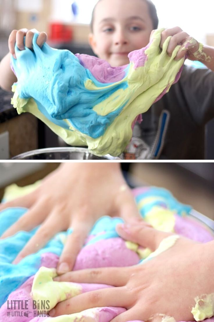 diy puffy paint without shaving cream