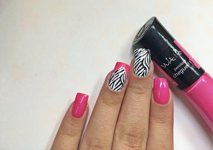 Unhas Decoradas Com Zebra