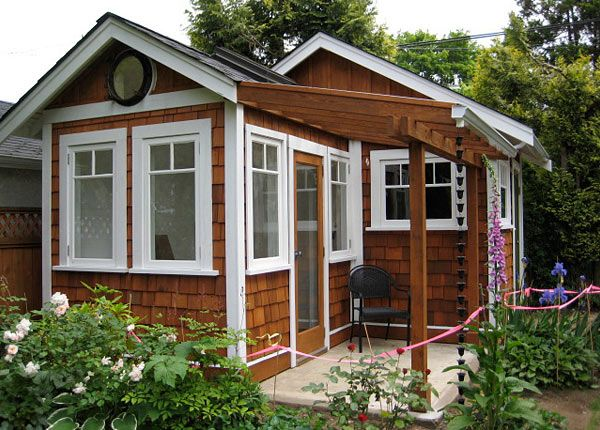 200 sq ft tiny house in vancouver love the colour scheme on this one