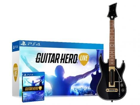 [Magazine Luiza] Guitar Hero Live Bundle PS4 - R$ 199