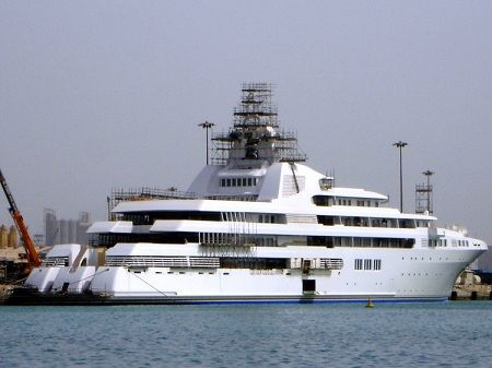 most expensive yachts 2012