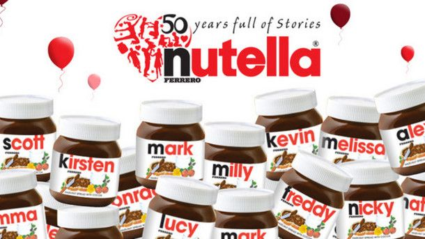 Are Nutella's personalised labels a sign that digital is taking over from conventional offset printing? PD
