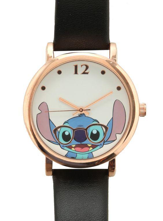 Disney Lilo & Stitch Nerdy Stitch Watch | Hot Topic: